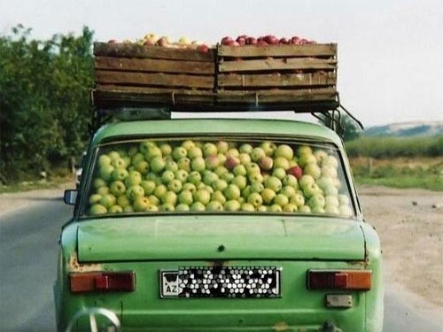 How Many Apples can You Fit in a Car?