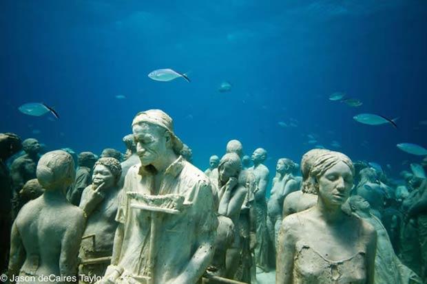 Silent Evolution Sculpture.
