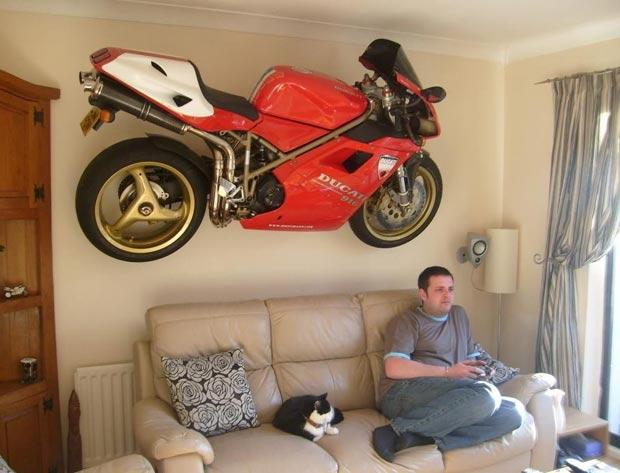 Motorbike Wall Decoration.