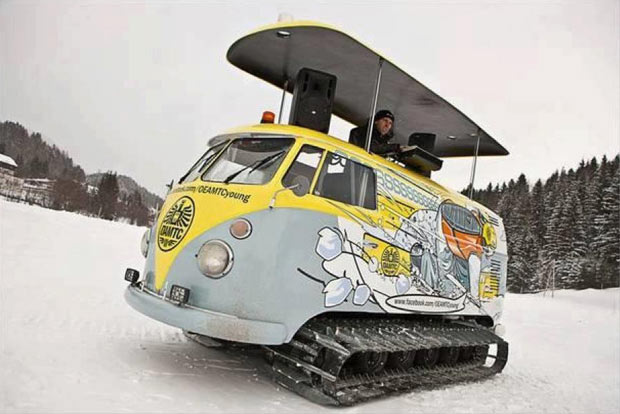 Dj Tank Camper Snow Party Coolest Photos