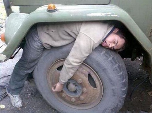 Tired, take a break.