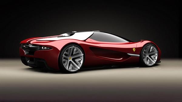 Ferrari Xezri Concept by Samir Sadikhov