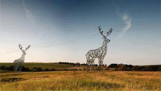 Electrical Pylons Looking Awesome