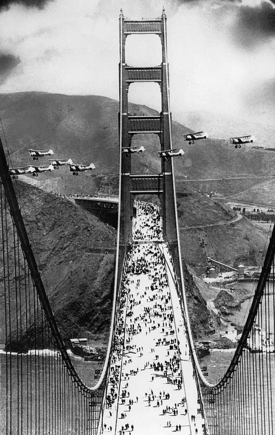 The Golden Gate Bridge, Open to Public – May 27, 1937