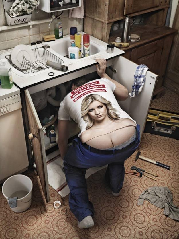 Sexy T-Shirts for Builders, Plumbers & Mechanics