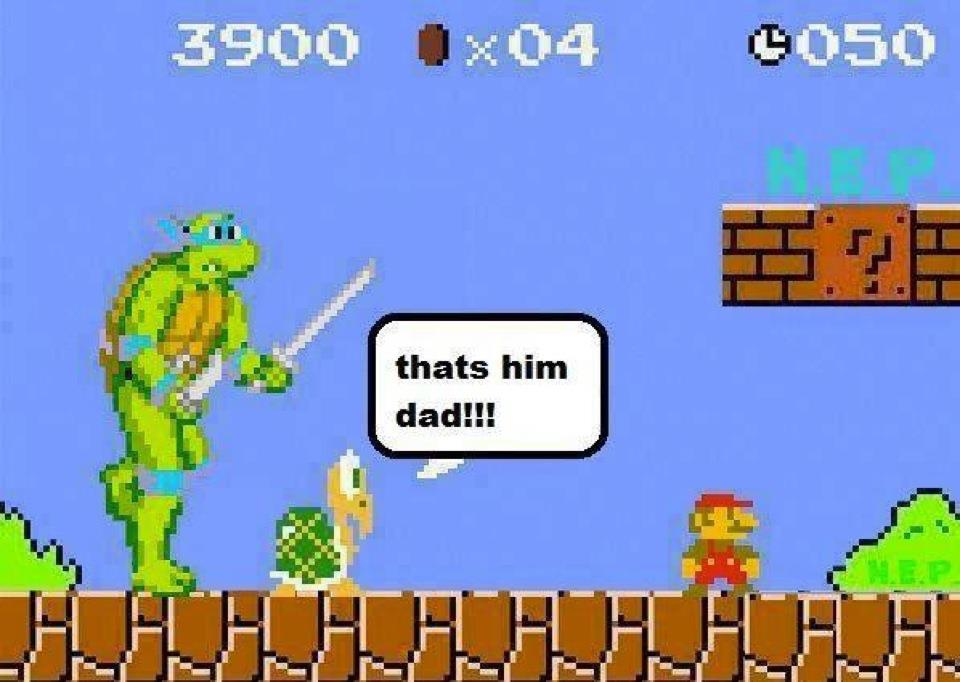 Turtles Revenge – Super Mario Bros