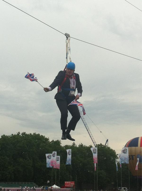 Boris Johnson, Stuck