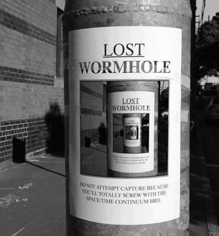 Lost Wormhole Poster