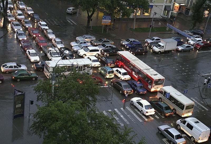 Nightmare Traffic Jam