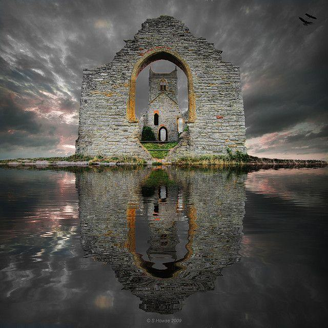 Castle Ruins, Loch Ard, Scotland by S. Howse