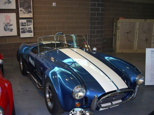 1966 AC Cobra 427 in Blue with White Stripes