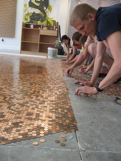 Coin Flooring