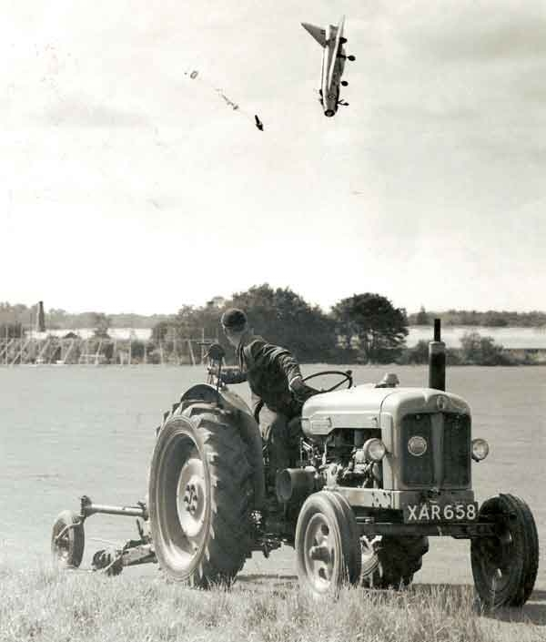 George Aird's Low Altitude Ejection from Lightning F1