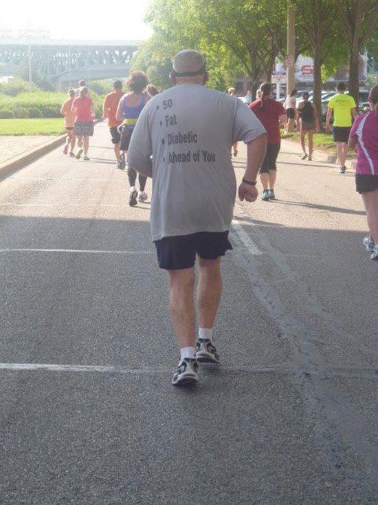 Ahead of You, Funny T-Shirt
