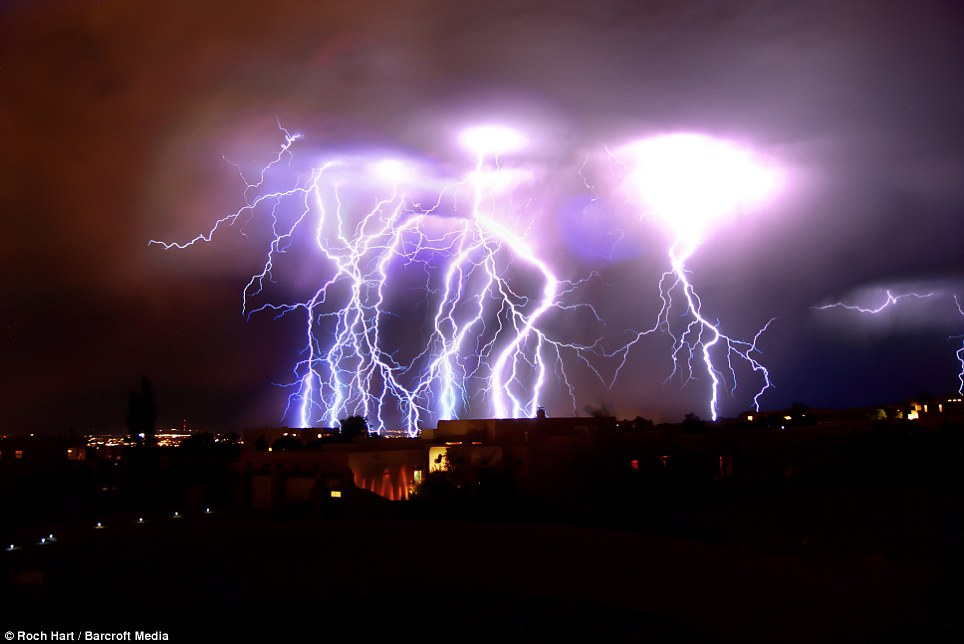 Lightning Albuquerque, New Mexico