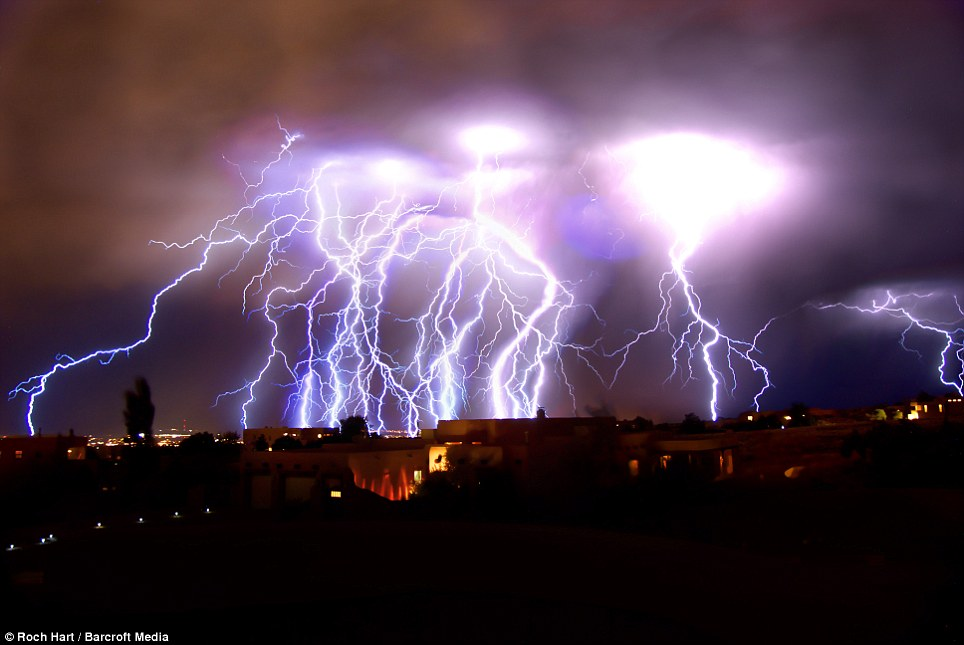 Amazing Lightning Albuquerque, New Mexico