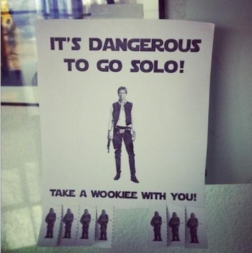 Dangerous to go Solo