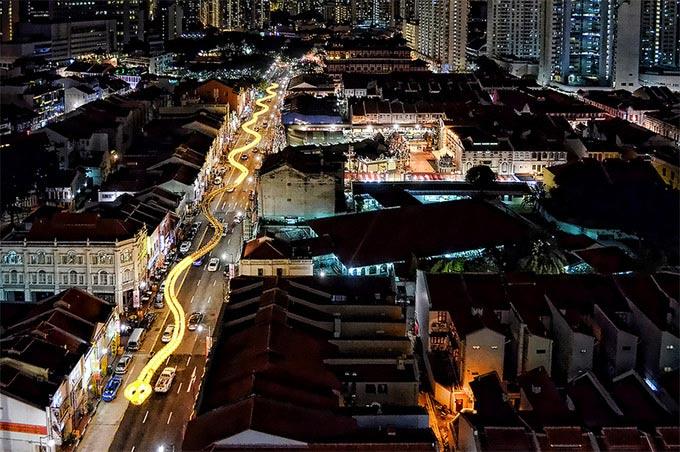 Snake Lantern in Singapore