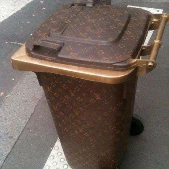 Louis Vuitton Wheelie Bin