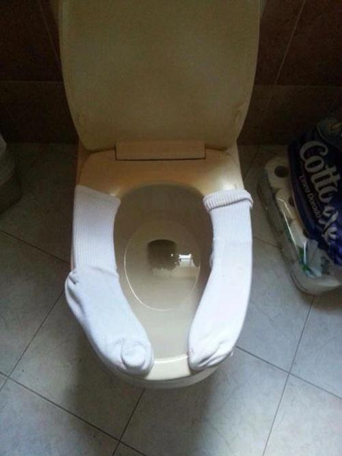 Age-Old Public Toilet Problem Solved