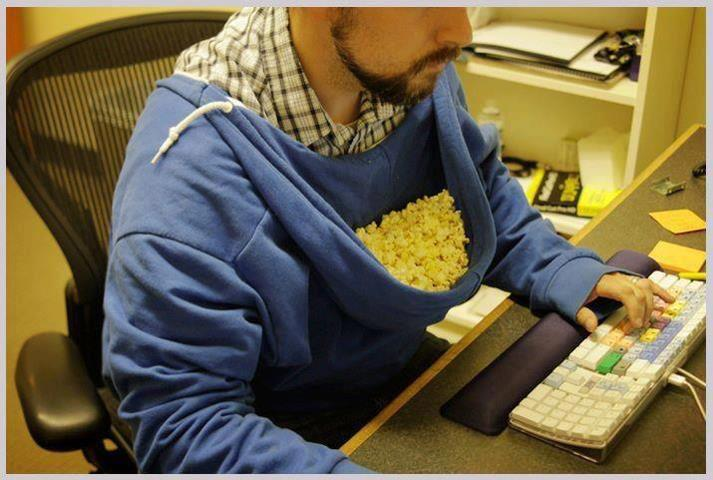 Popcorn Hood