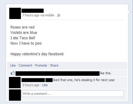 Worst Valentine's Day