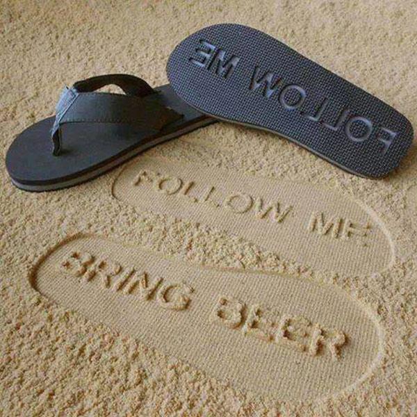 Follow me! Flip Flops